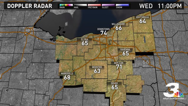 Weather Snapshot. Find more forecast info at https://t.co/akYPvTJdei #3weather #ohwx