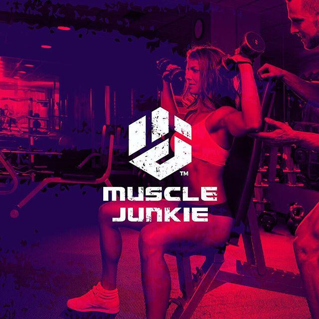 Follow us @logoinspirations Muscle Junkie by @kudos.design - ➡️ https://t.co/9dnuazJRTd - LEARN LOGO DESIGN @learnlogodesign https://t.co/Dr3YjYMCr4 1