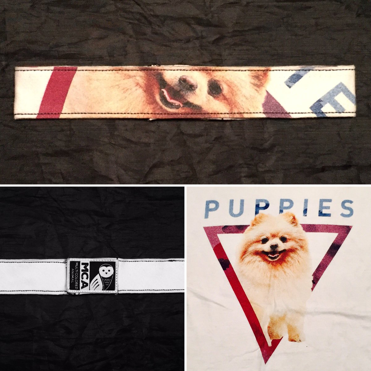 #Oneofakind #Puppies #headband #repurposed from #tshirt  http://www. MCAHeadbands.com  &nbsp;   @PHXFashionWeek @PuppiesMMHappy #phxfw #fashion #headbands<br>http://pic.twitter.com/pPqTUAoddC