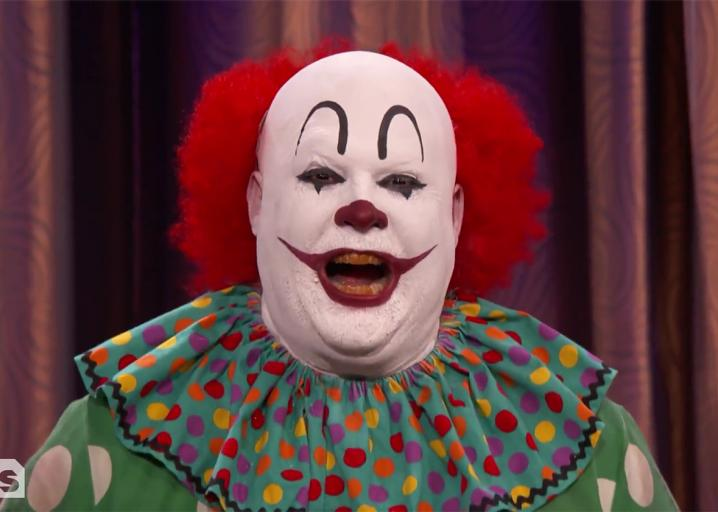 """A clown went on Conan to protest negative stereotypes in """"It,"""" but things went pretty badly: https://t.co/Uo3EkuQ1Lm"""