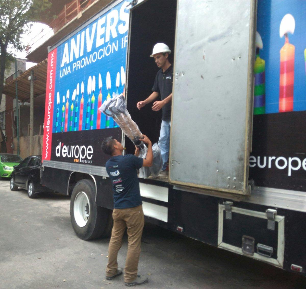D Europe Muebles On Twitter Ya Estamos En Camino Fuerzamexico  # Muebles Deurope