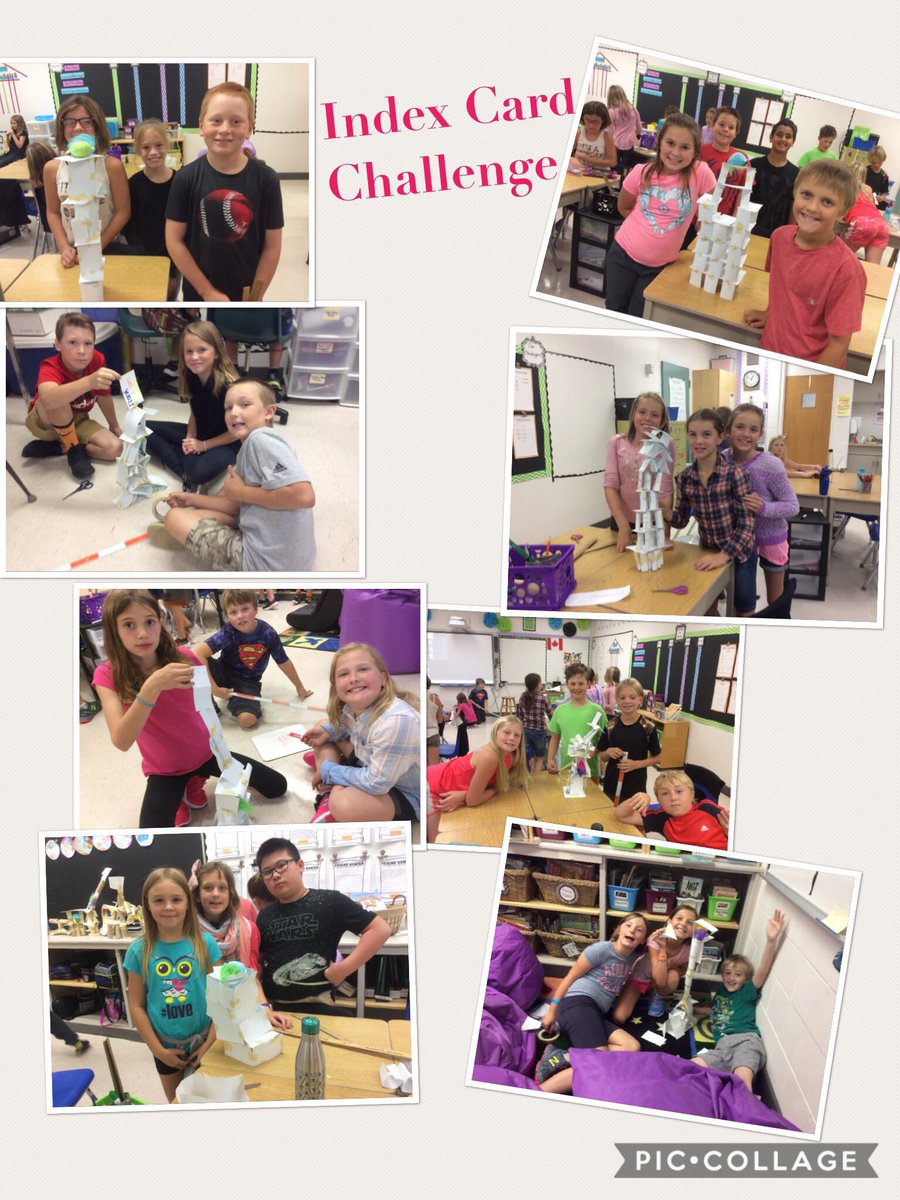 We finally had a chance to finish our Team Challenge.  Another succes, with very unique designs.  #risetothechallenge #problemsolvers <br>http://pic.twitter.com/OjWlnnFoSC