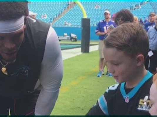 CUTE: Young Panthers fans can't stop talking about unforgettable moment with Cam Newton https://t.co/NtbyW14HjK