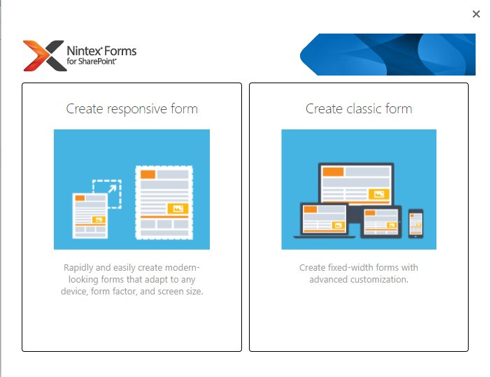 Nintex #Forms for #SharePoint Update! Responsive has now landed for 2013 and 2016 versions. Trial available on  http://www. nintex.com  &nbsp;  <br>http://pic.twitter.com/5YaPCOupcJ