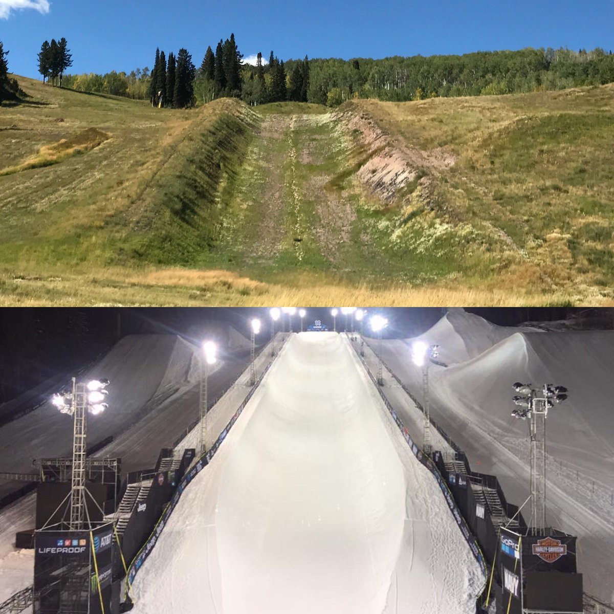 Getting ready for January! The beast will come alive again!#scrimjunkies #xgames #aspen #colorado #espn #eventlife<br>http://pic.twitter.com/srRqnAFvcZ