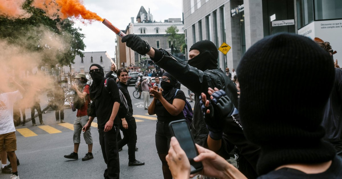 «Québec solidaire veut protéger le Black Bloc» - Lisée https://t.co/w75rrKhLcv