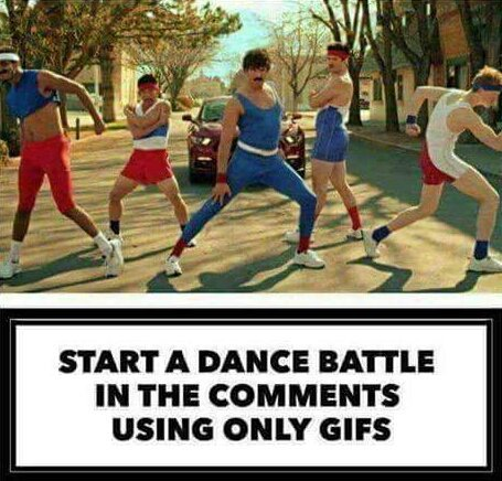Game time!!!   #HumpDay #DanceBattle #GIF #GIFs   And GO!!! <br>http://pic.twitter.com/Y7jg2Q3aIE