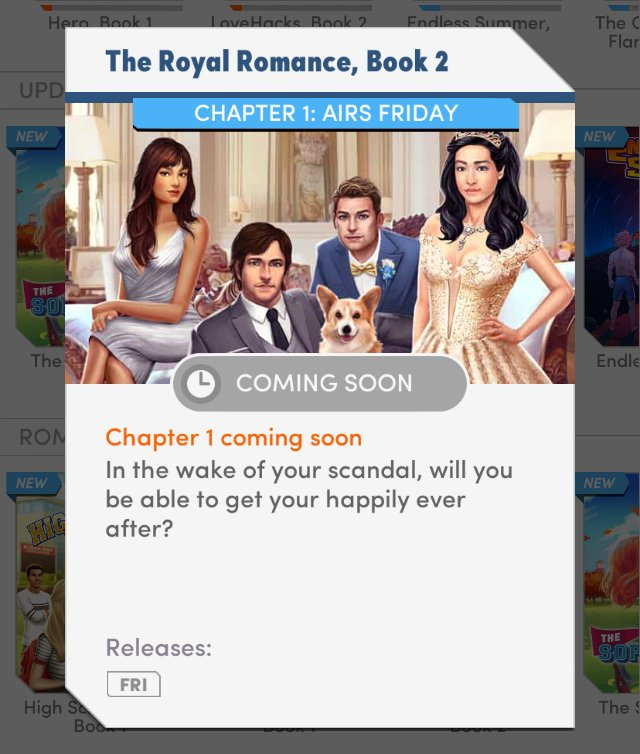It's official! Our release date is set for The Royal Romance Book 2! h...