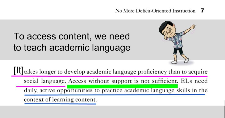 Language Supports Academic And Social >> Tan Huynh On Twitter Teaching Academic Language Empowers Els To