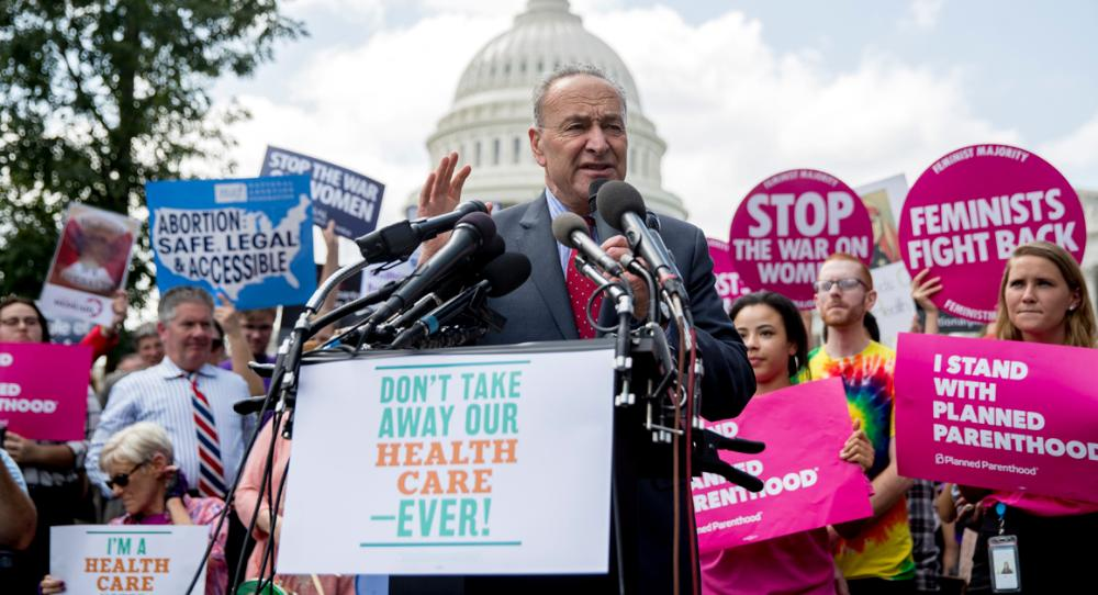 Left on 'full war #footing' to stop #Obamacare #repeal  http:// politi.co/2wIgnpd  &nbsp;  <br>http://pic.twitter.com/Ap4plDp2Ld