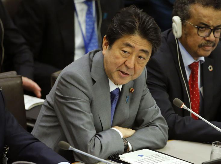 Japan's Abe says time for talk is over on North Korea https://t.co/hDjHmP7srw https://t.co/CsflbiCc5a