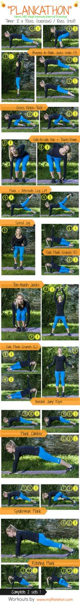 RT Plankathon HIIT #Workout ➡ https://t.co/3X2CrXvugP https://t.co/esI0LLRPXe #health #wellness