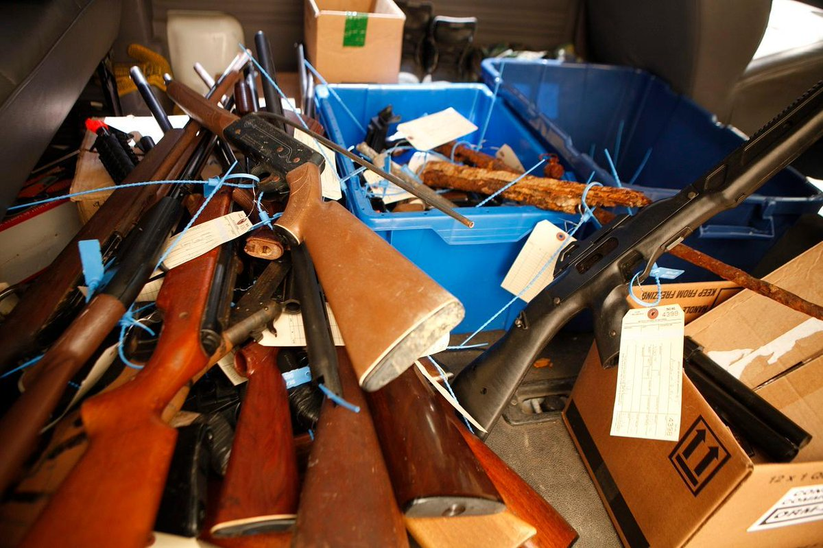 Gun buybacks get headlines, but there's no evidence they reduce crime, researchers say https://t.co/l1jW3R4Sme