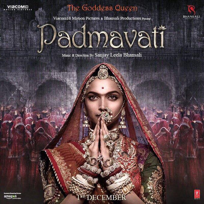 देवी स्थापना के शुभ अवसर पर मिलिए रानी पद्मावती से #Padmavati @FilmPadmavati https://t.co/hYJonZCEEH