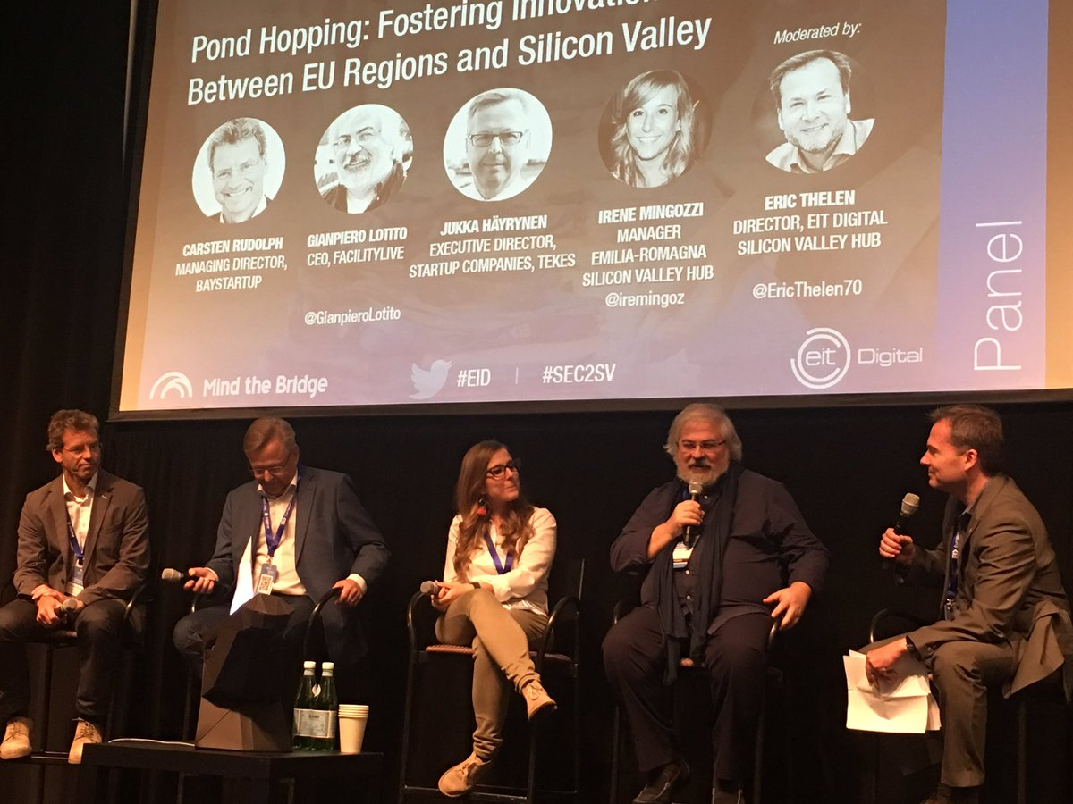 &quot;The Silicon Valley learnt from us the importance of intellectual property&quot; @GianpieroLotito at #EID #SEC2SV<br>http://pic.twitter.com/A8iG7L9CAU