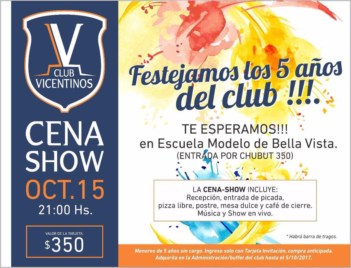 Club Vicentinos On Twitter No Se Olviden El 15 De Octubre