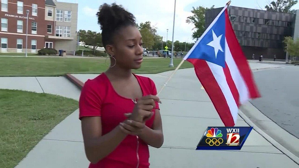 Triad student working to communicate with family in Puerto Rico after Hurricane Maria https://t.co/Hwd7lOjiMB