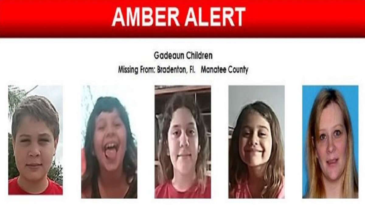 #DEVELOPING Amber Alert issued for four children who were last seen in Bradenton last week  http:// on.nbc6.com/V3EENmH  &nbsp;  <br>http://pic.twitter.com/xZFJctF08h