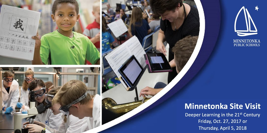 Are you coming? Annual @TonkaSchools Site Visits Oct. 27 &amp; Apr. 5 Register today! #edtech #edtechchat #edchat  https:// thenexttechthing.blogspot.com/2017/09/annual -minnetonka-site-visits-october.html &nbsp; … <br>http://pic.twitter.com/uayJWfcnpf