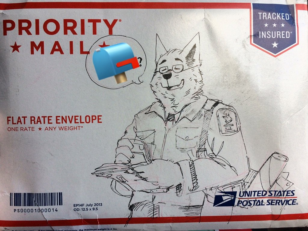 From the bow