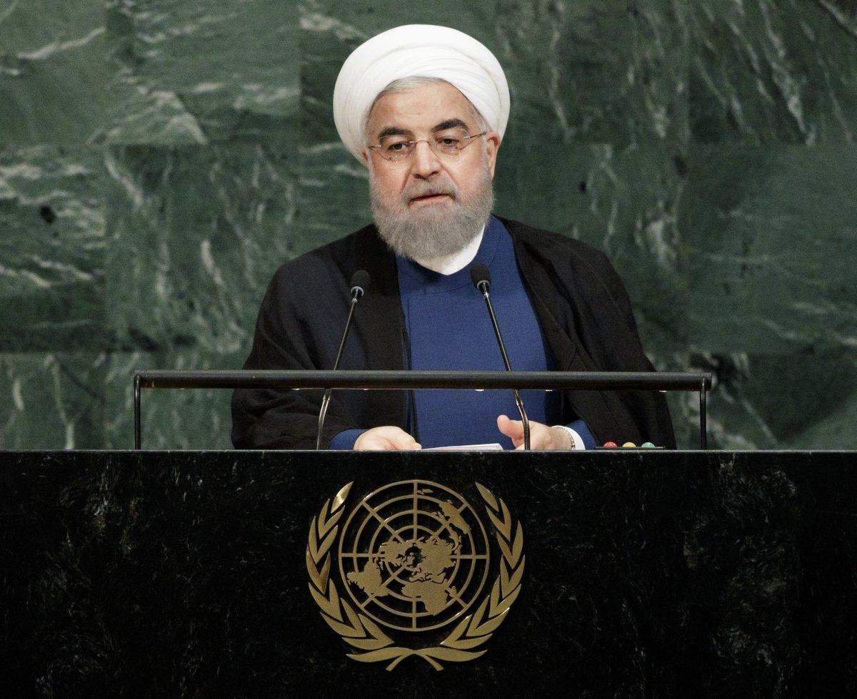 Irã diz que discurso dos EUA foi repulsivo https://t.co/EPEBqAqh8U