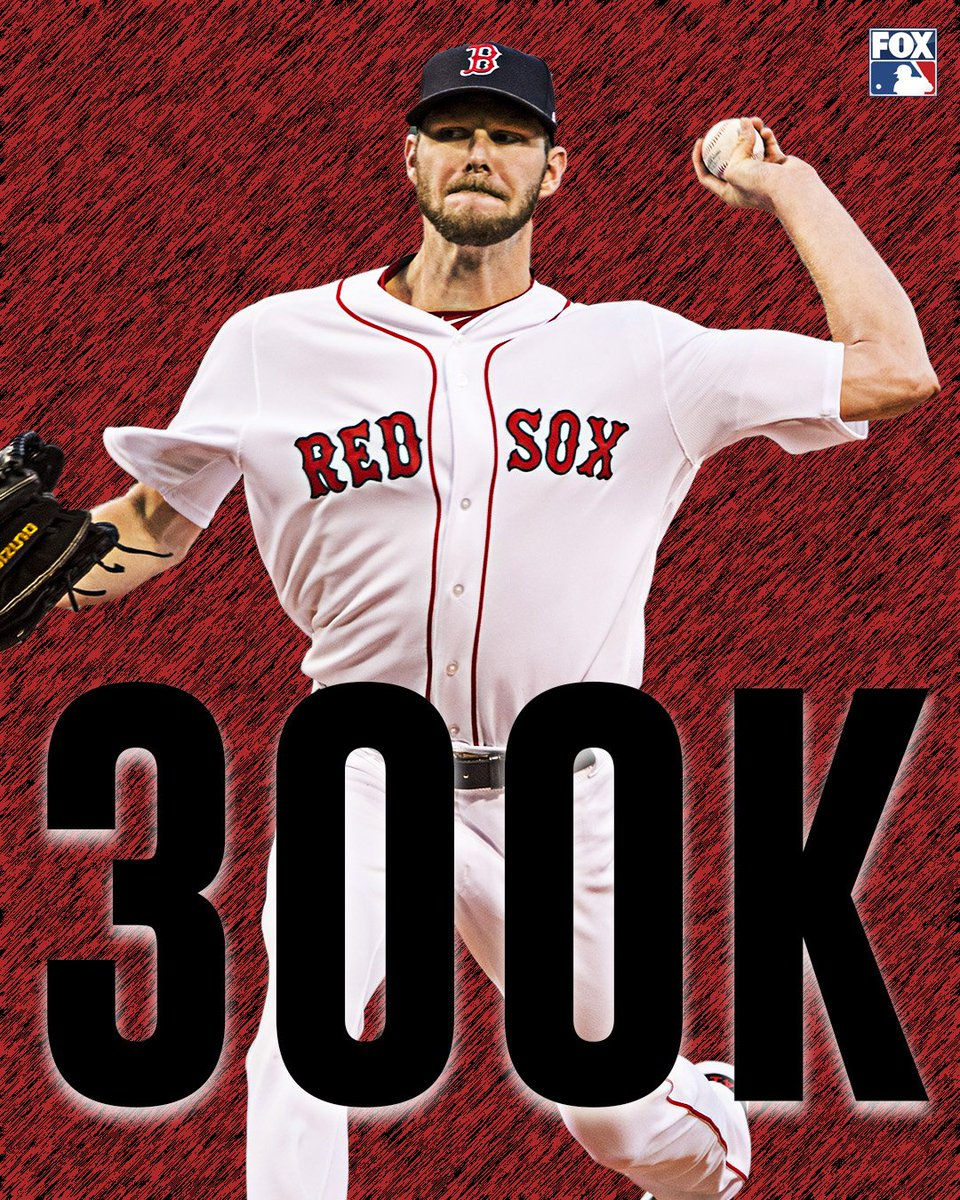 300 STRIKEOUTS on the season for Chris Sale!   🔥🔥🔥🔥🔥