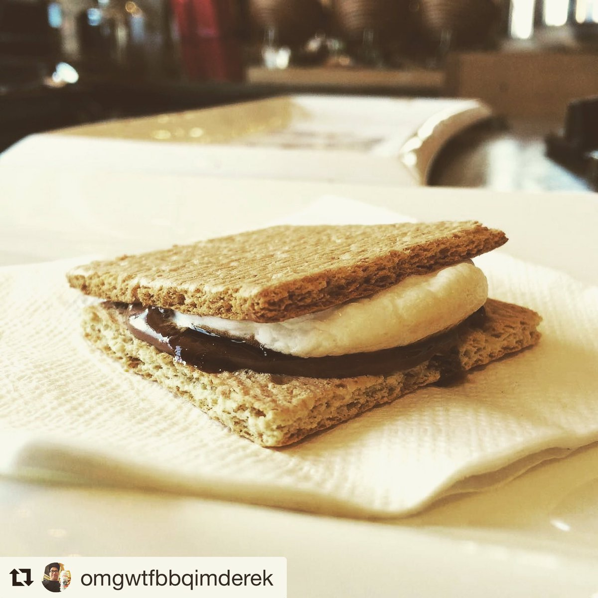 #Maple infused #balsamicvinegar drizzled onto a #marshmallow and #Nutella s&#39;more . . #fatlife #fatkidproblems #food<br>http://pic.twitter.com/lwvpo8dHcj