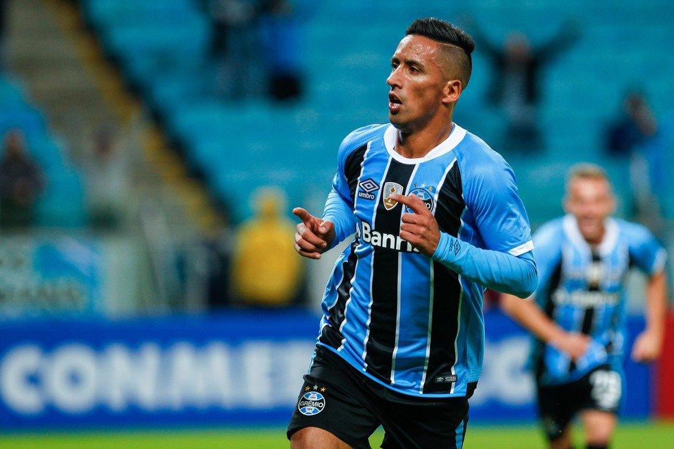 Lucas Barrios é o vice-artilheiro da Libertadores: 6 gols!   #LibertadoresNoSporTV