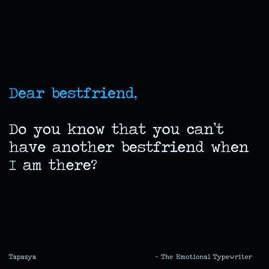 emotionaltypewriter در توییتر mention your best friend