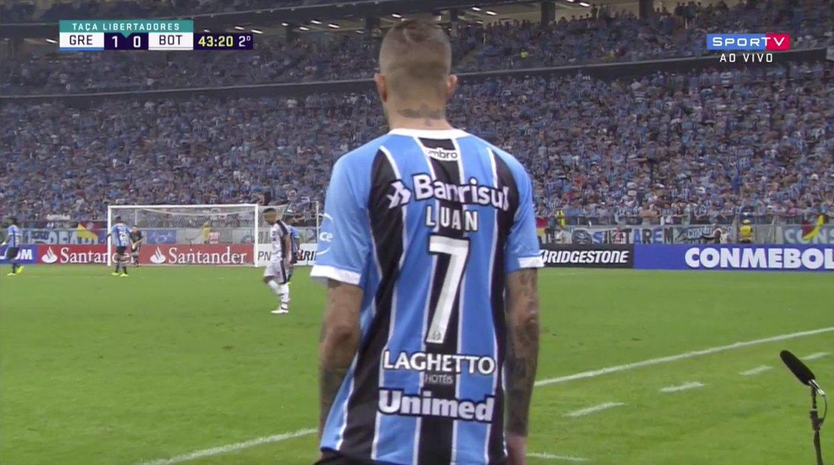 LUAN VEM AÍ!   #LibertadoresNoSporTV