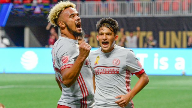Atlanta scores three goals in seven minutes in win over Galaxy. MORE: https://t.co/IcevbxUDew