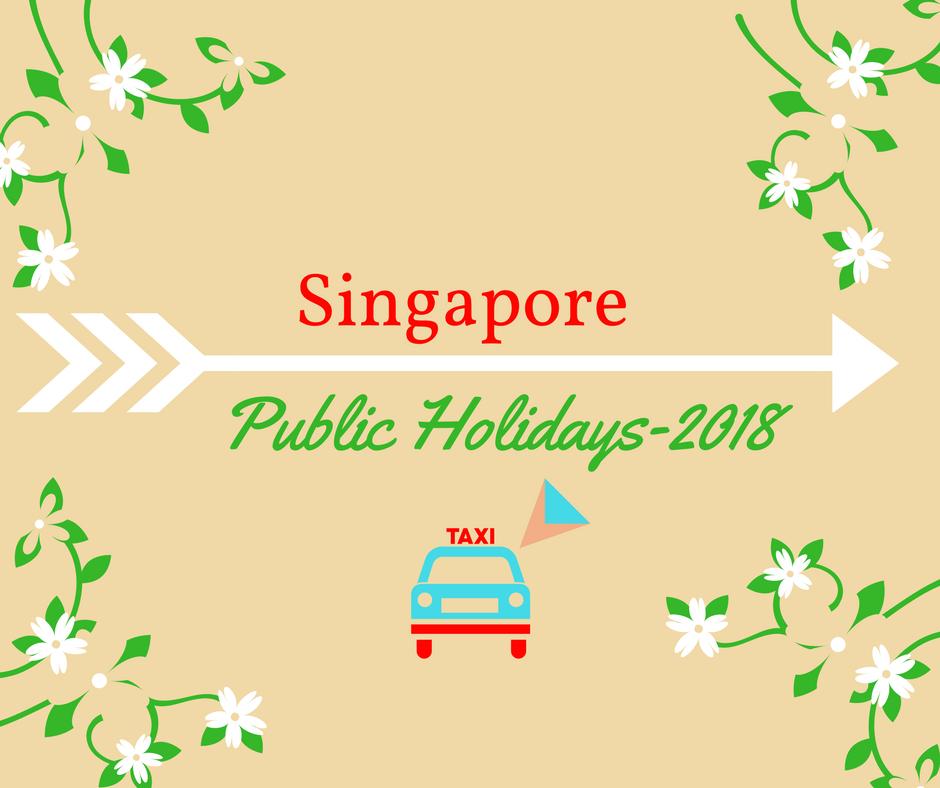 SG Public Holidays 2018