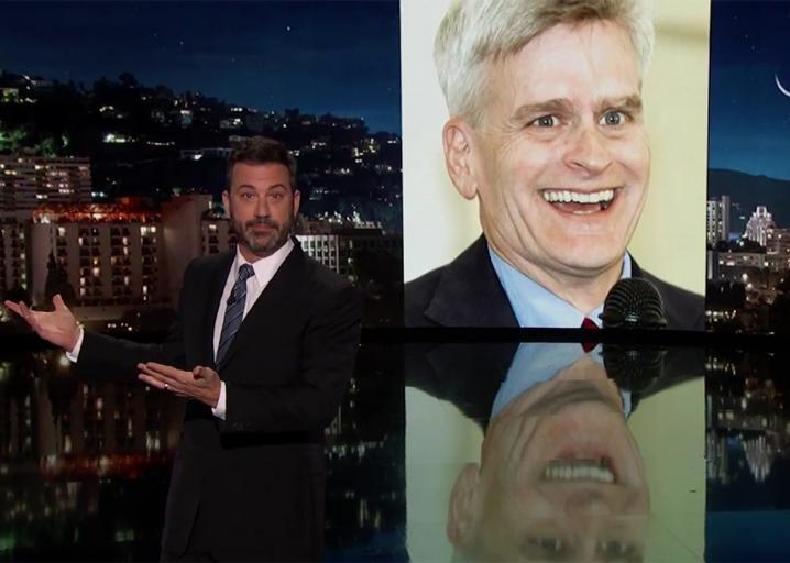 """Jimmy Kimmel: Senator Bill Cassidy """"lied right to my face"""": https://t.co/1hpENPFNST"""