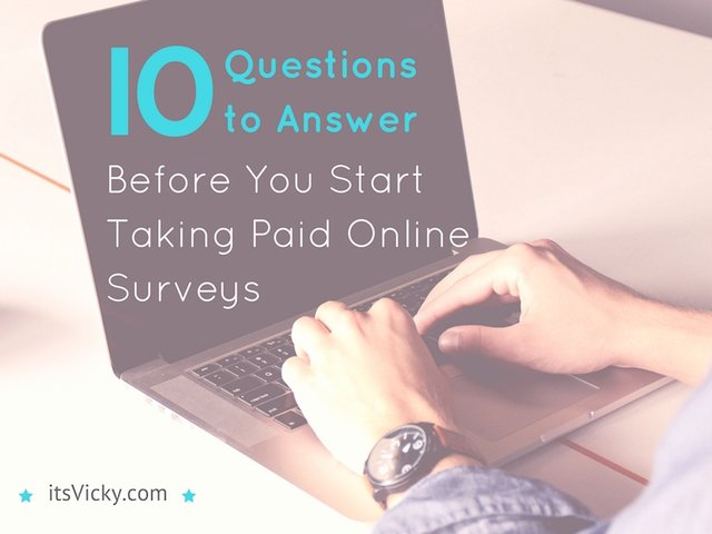 10 Questions to Answer Before You Start Taking Paid Online Surveys, The More You Know...   http:// crwd.fr/2v3OO9w  &nbsp;   #extracash <br>http://pic.twitter.com/vWzjDcordF