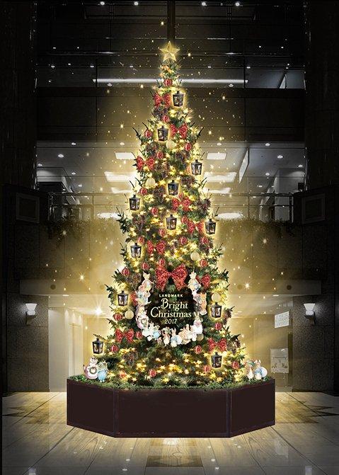 横浜ランドマークタワーのクリスマス -「ピーターラビット」をテーマにしたツリー&イルミネーション - https://t.co/6vtJTewCFR