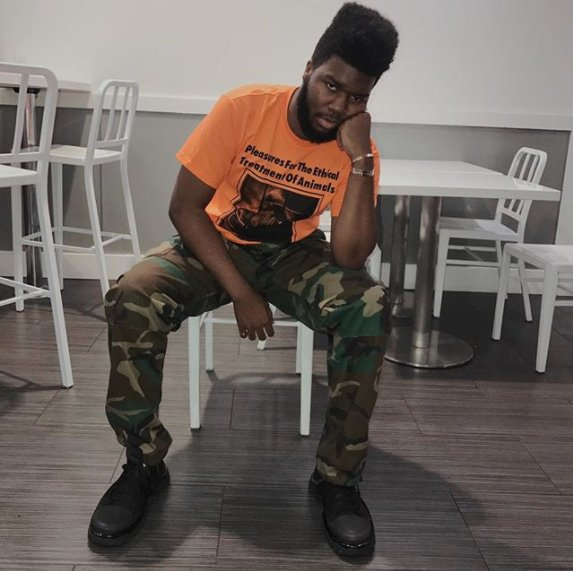.@thegreatkhalid shared a rough draft of his new song 'Perfect.' https...