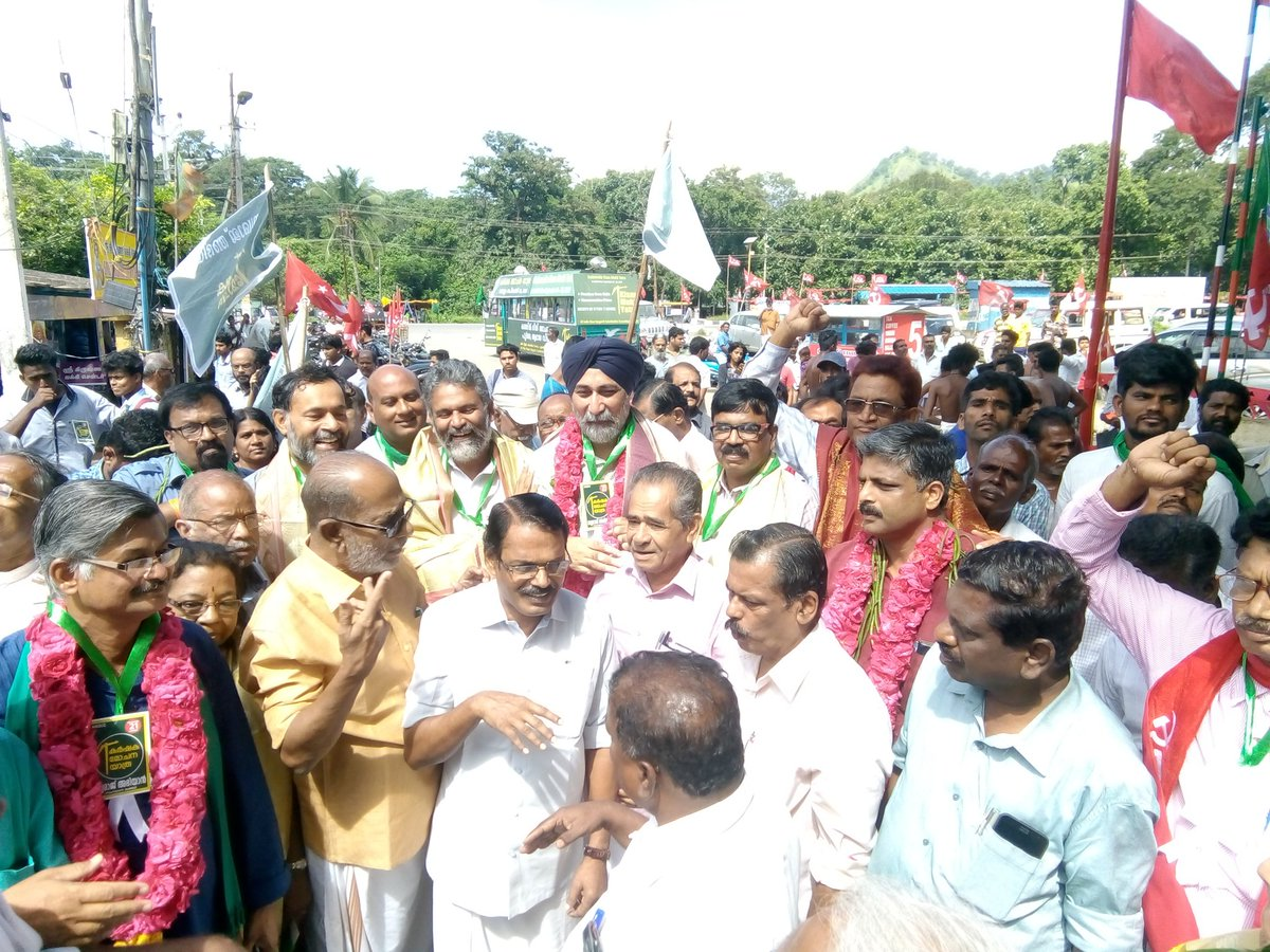 #KisanMuktiYatra reaches #Kerala. Thank You for such warm welcome. <br>http://pic.twitter.com/0Kd1t1yu5P