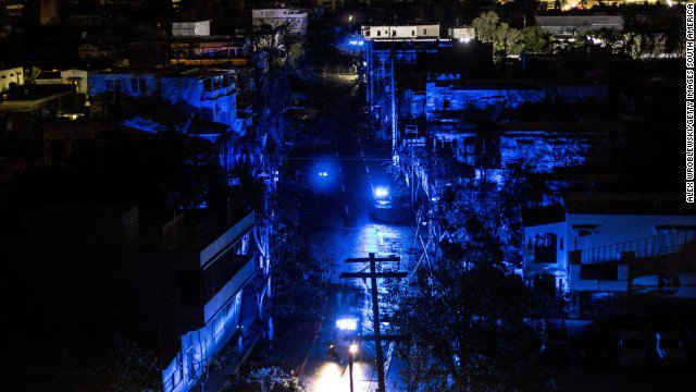 Puerto Rico took such a severe blow from Hurricane Maria that restoring power may take months, the governor says. https://t.co/qGy2Ym9yiy