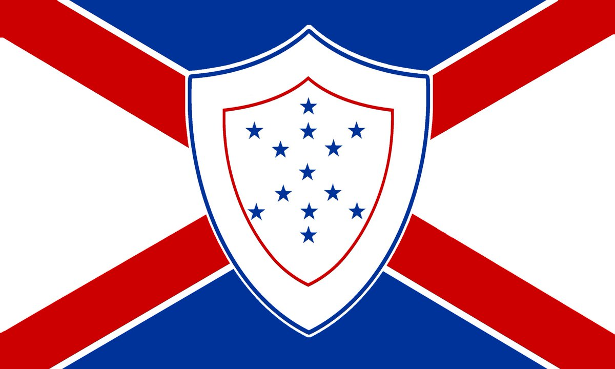 new confederate flag cross n shield twitter