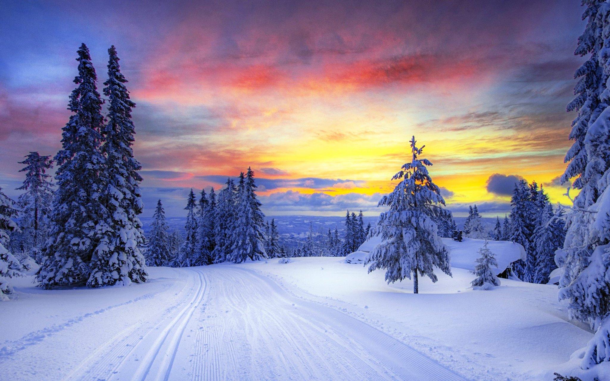 Открытки, открытки с природой зимы
