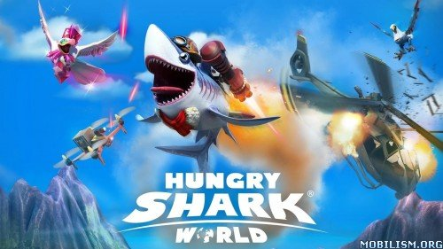 Hungry shark 3 android скачать