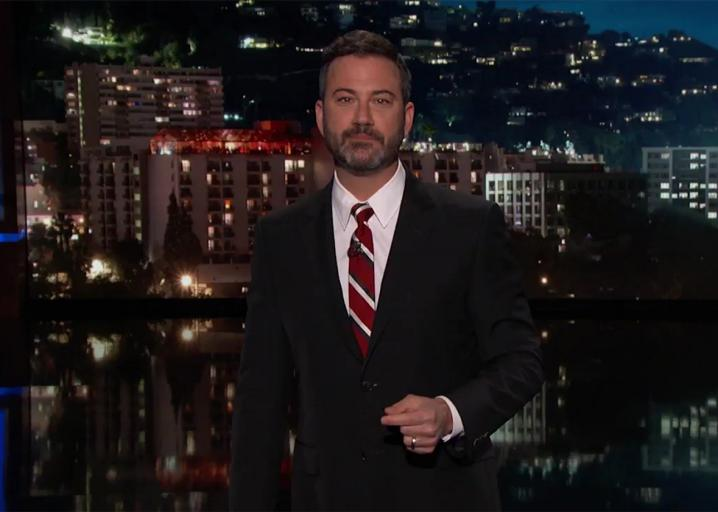 Jimmy Kimmel tears into everyone who came after him for speaking out about health care: https://t.co/P5FxxU1LjJ https://t.co/VfRejeFLAW