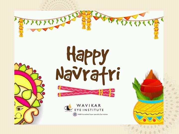 Wavikar Eye Institute wishes you a very happy Navratri :) #festival #celebration #navratri #thane  #eyecare #health #stayhealthy #eye<br>http://pic.twitter.com/7MQbPNs4U8