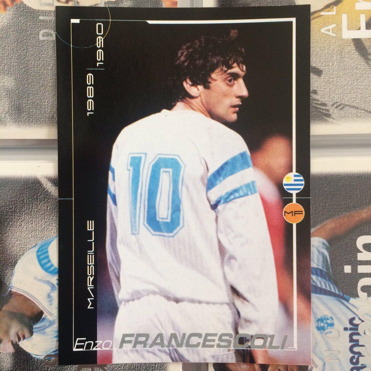 """OM Trading Cards on Twitter """"Enzo Francescoli Sportiva Modern"""