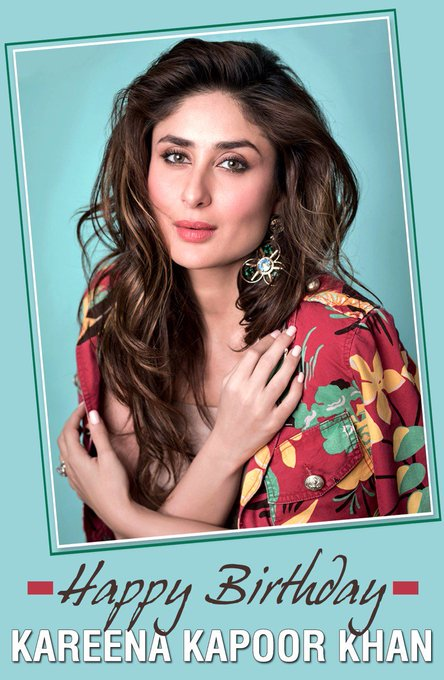 Here\s wishing Kareena Kapoor Khan a very Happy Birthday!