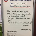 Morning All, have a great day! 👍🏻😍😂@RealTimVine @jubileeline @TfL