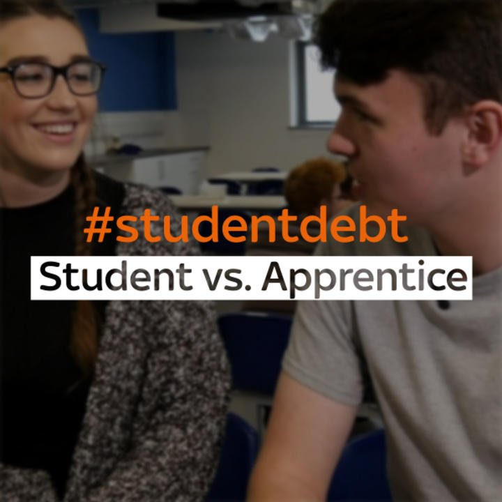 Student vs Apprentice: We speak to both sides - is university 'worth i...