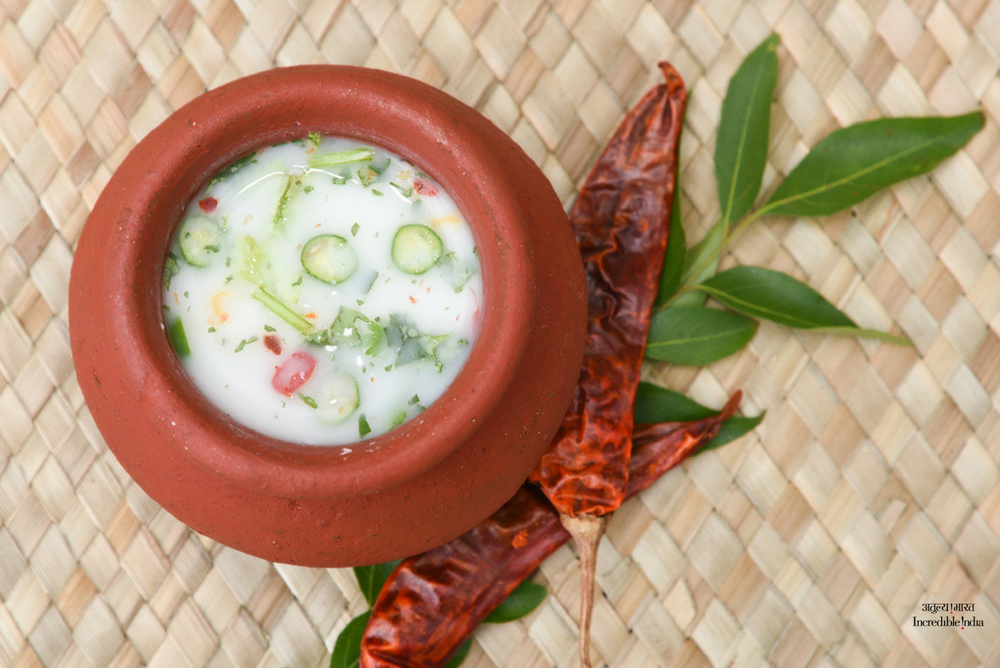 Say yes to chaas or the buttermilk! The yoghurt based drink that's tem...