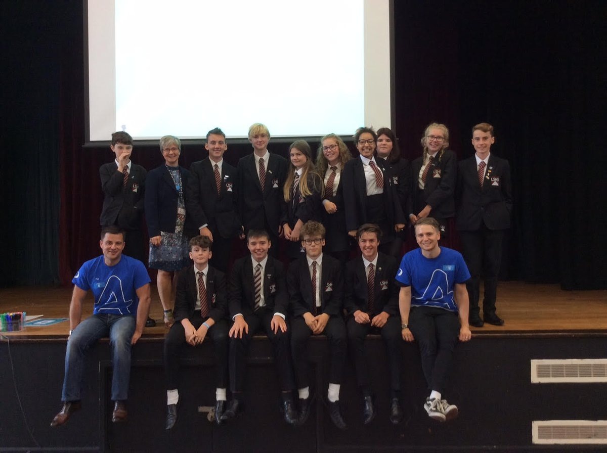 Our Anti-Bullying Ambassadors on a visit to Aylsham High School. We're excited about what these young people will achieve this year.