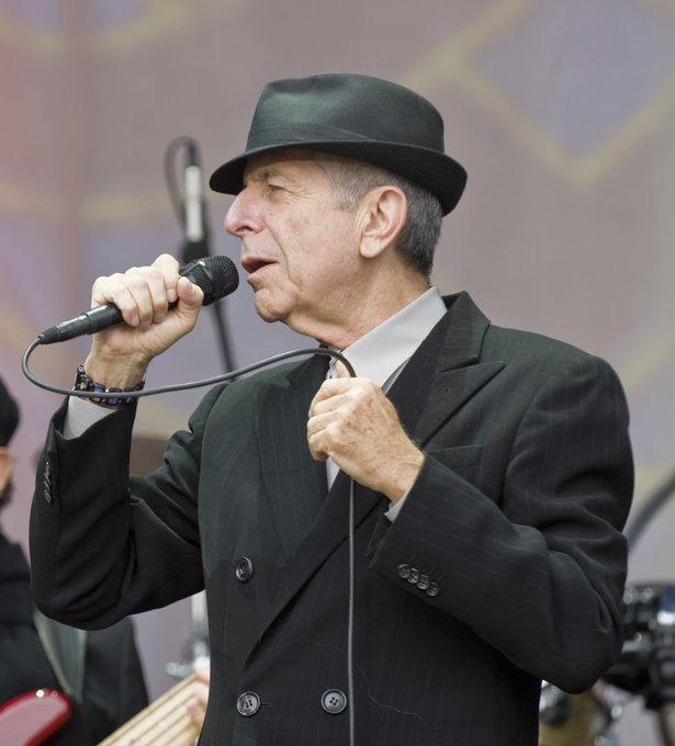 "Happy birthday Leonard Cohen ""There is a crack in everything/That\s how the light gets in."